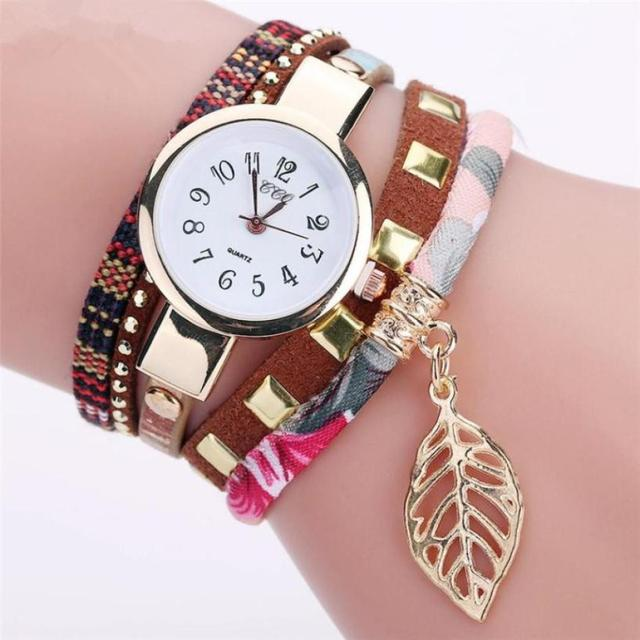Fashion Women Girls Analog Quartz Wristwatch Ladies Dress Bracelet Watches woman watches 2018 brand luxury Lovely and elegant