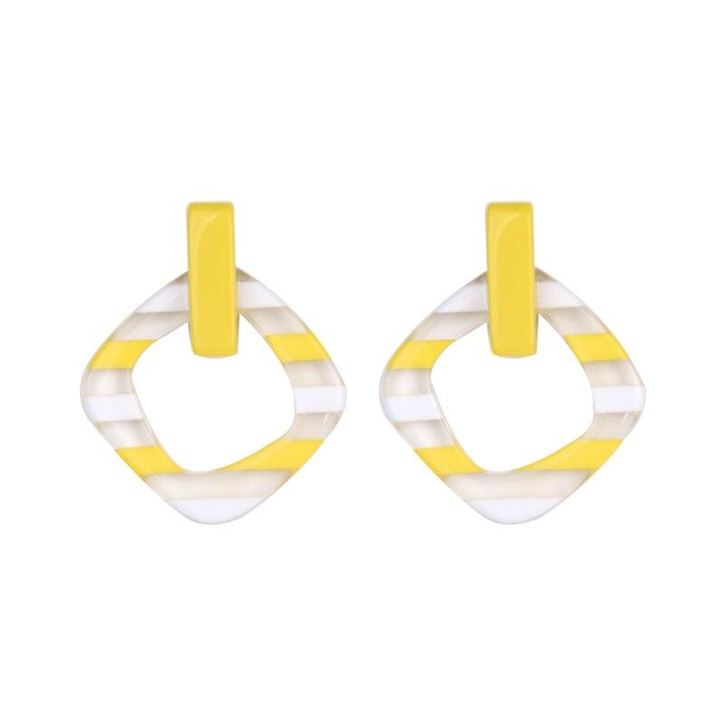 GuanLong Vintage Long Dangling Acrylic Earrings for Women Big Geometric Resin Drop Earring for Girls Fashion Jewelry Brincos  (1)