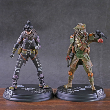 Hot Game Apex legends Wraith / Bloodhound PVC Figure Collectible Model Decoration Toy 1