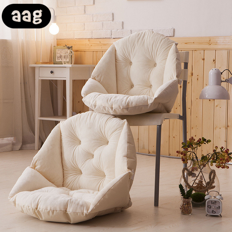 AAG Soft Plush Shell shape Seat Cushion Waterproof Winter Warm buttocks Seat Pad Office Home Bedroom