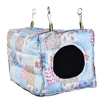 Hook Design Small Pets Cube Cotton Hamster House Cage For Small Animals Squirrel Guinea Pig Chinchilla Rabbit House Supplies 2