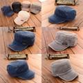 Nova Vindo Do Exército Cadete Tampão Do Esporte Das Mulheres Dos Homens de Beisebol Ajustável Clássico Plain Hat Atacado