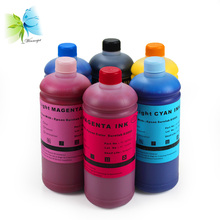 1000ml Refill water based UltraChrome D6 dye ink for epson D3000 printer+700ml Empty refill ink cartridge