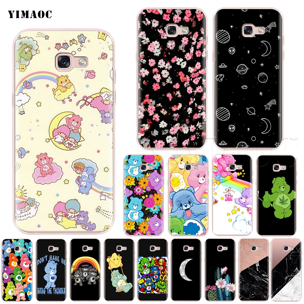 Qualified 3d Cute Cartoon Bear Unicorn Soft Case Cover For Samsung A7 2018 J4 J6 A8 A6 Plus S7 Edge S8 S9 A3 A5 2017 Tpu Phone Cases Coque Promote The Production Of Body Fluid And Saliva Cellphones & Telecommunications Phone Bags & Cases
