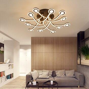 Led Plafonniers Luminaires Chambre Luminaire Moderne Eclairage Nordique Salon Plafonniers Home Deco Plafonnier