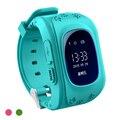 Crianças GPS Relógio De Rastreamento Q50 Nova Smartwatch SIM Suporte Voz Conversando Cerca Eletrônica pedômetro SOS para Ajudar A História de Roteamento