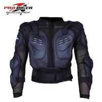 TOP Professional Pro Biker Motorcycle Body Armor Protective Jacket M L XL XXL Motocross Motorcycle Racing