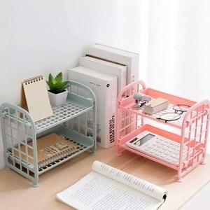 Mini Plastic Storage Rack Shoes Shelf Home Bathroom Kitchen Sundries Organizer Shower Supplies Holder