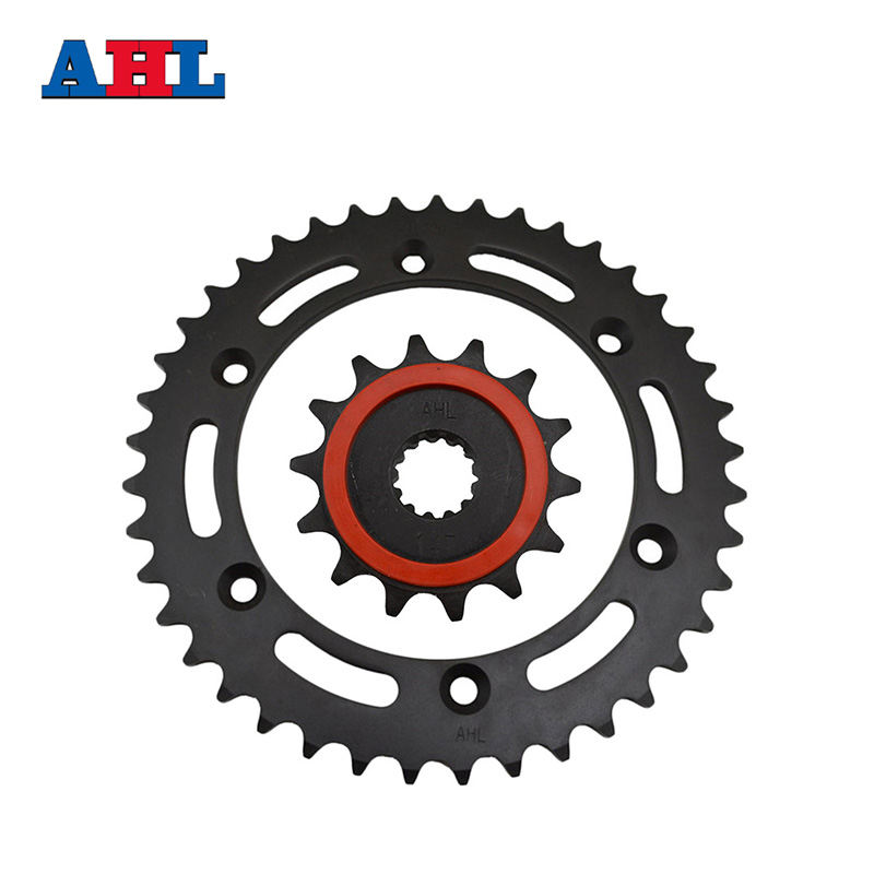 Racing Motorcycle Parts Front & Rear Sprocket KIT For SUZUKI DRZ400 DR-Z400 type 520 41-14 Tooth Beyond the original part motorcycle parts front