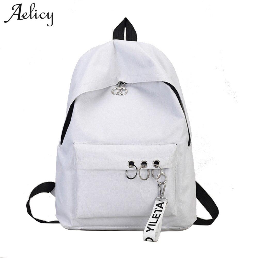 New Korean backpack student schoolbag shoulder bag handbag leisure bag 5 colors