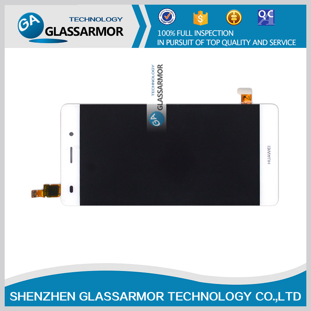 GALSSARMOR Original New For Huawei P8 Lite LCD display screen+Touch digitizer Glass Panel Replacement for Huawei P8 Lite