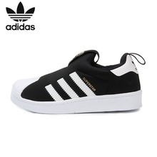 купить ADIDAS SUPERSTAR Original Kids Running Shoes Children Comfortable Sports Sneakers #S82711 по цене 2708.16 рублей