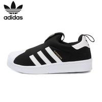 아디다스슈퍼스타 오리지널 어린이 실행 신발 어린이 편안한 스포츠 운동화 # S82711|운동화|   -