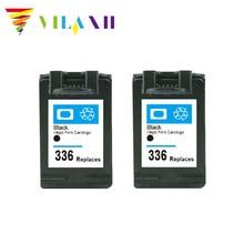 vilaxh Ink Cartridge For HP 336 For HP Photosmart 7800 7850 C3100 C3110 C3125 C3140 C3150 C3185 C3188 C3190 for hp336 342 шапка brugge молочно белая