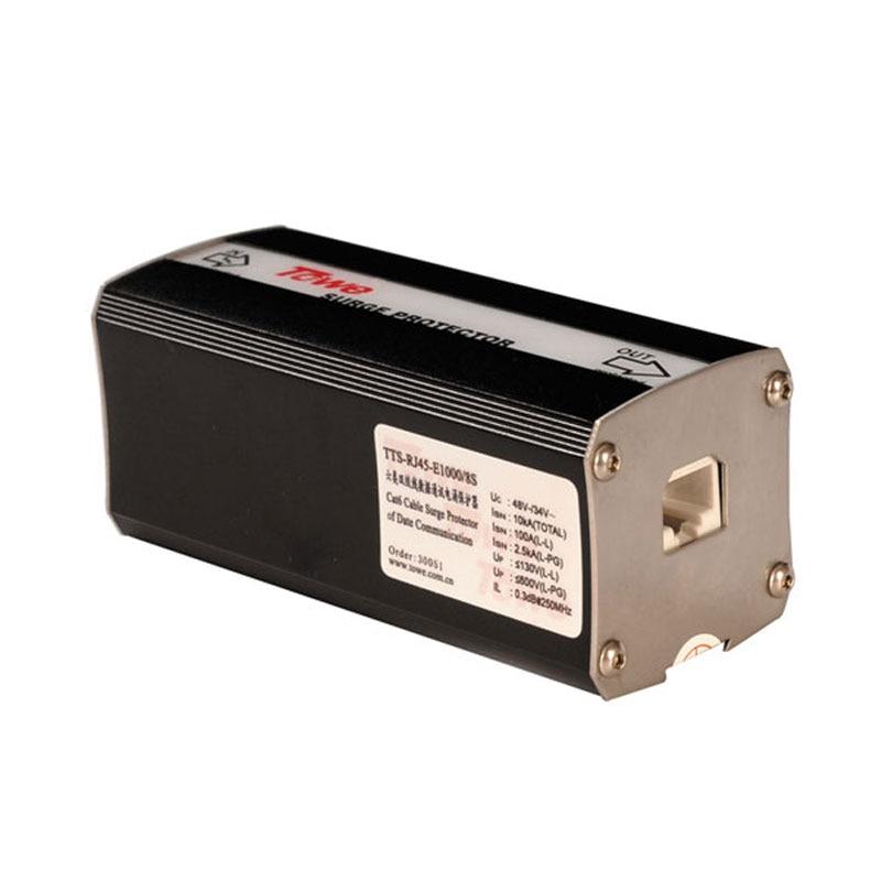 TOWE AP RJ45 E1000/8S 1000M POE network lightning protect 19 cabinet surge protection
