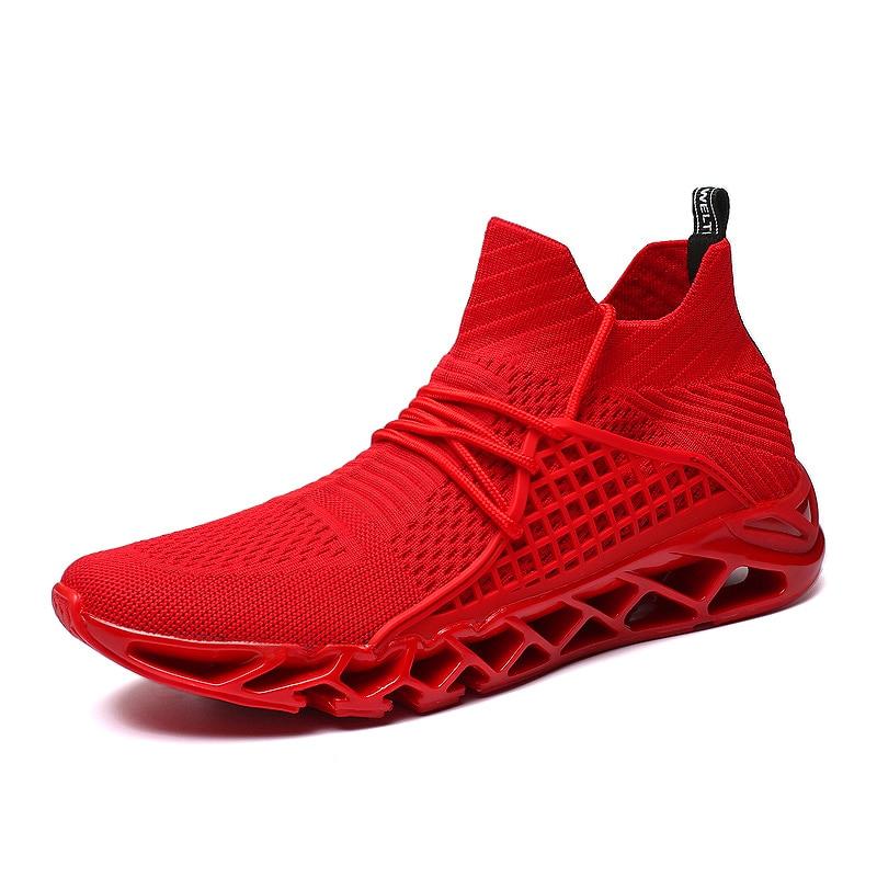 De Casuales Slip Black dark Green blanco Mycolen Lujo Marca Pisos Respirable Mocasines Hombres Zapatillas Otoño Los Zapatos rojo negro Primavera Red En Moda EqwvIS