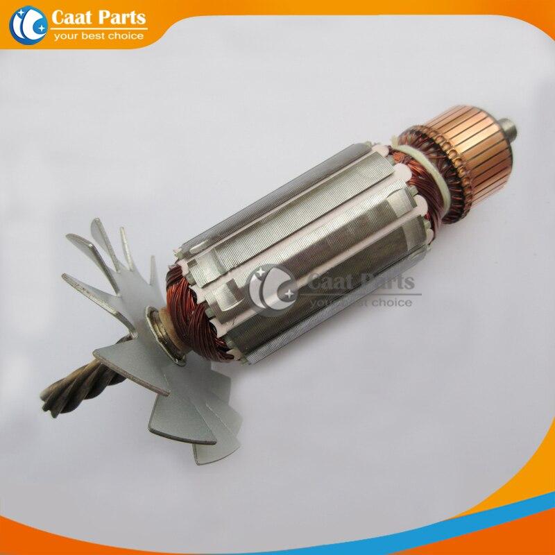 Livraison gratuite! AC 220 V Arbre D'entraînement Électrique Cutter Machine Armature Rotor pour Makita 2416 S, de haute qualité!