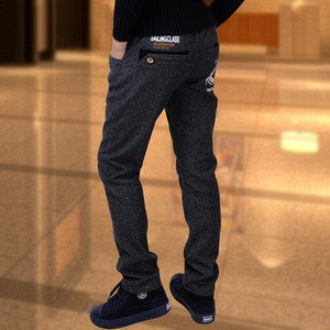 Image 2 - Chłopięce spodnie modele zimowe duże dziewicze spodnie rozciągliwe dziecięce spodnie dorywczo spodnie chłopięce dodatkowo pogrubiony aksamit dziecięcy pojedynczy/spodnie