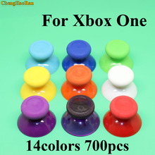 ChengHaoRan 700pcs Analog Joystick Cap for XBox One Analogue Stick controller Mushroom Head for XBox One Rocker Grip Cover focusrite isa one analogue