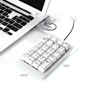 Image 4 - Bàn Phím số Tài Chính Kế Toán Laptop Bên Ngoài Có Dây USB Xanh Trục Cơ Bàn Phím số