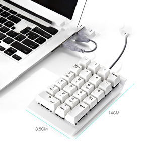 Image 4 - Digital Keypad Financial Accounting Laptop External Wired USB Green Axis Mechanical Numeric Keypad