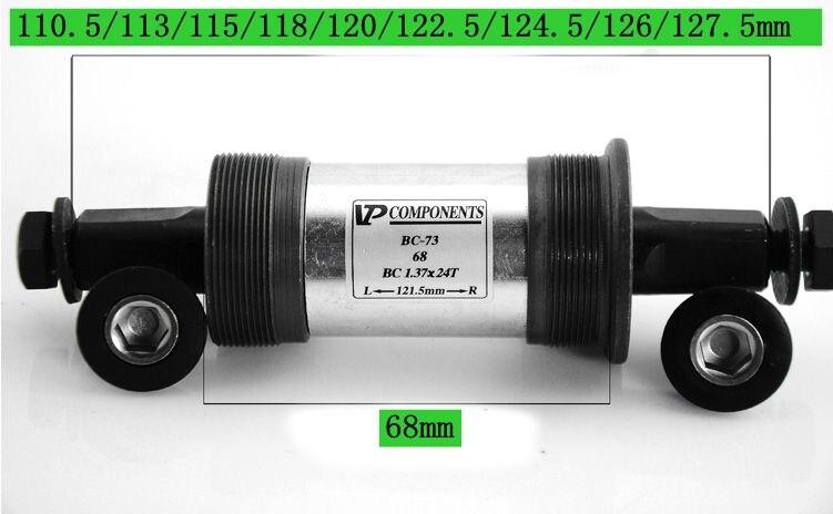 110 Tretlager 5 122 5 113//120 124//126 Mm 68 Mm Boden Heiße Verkauf