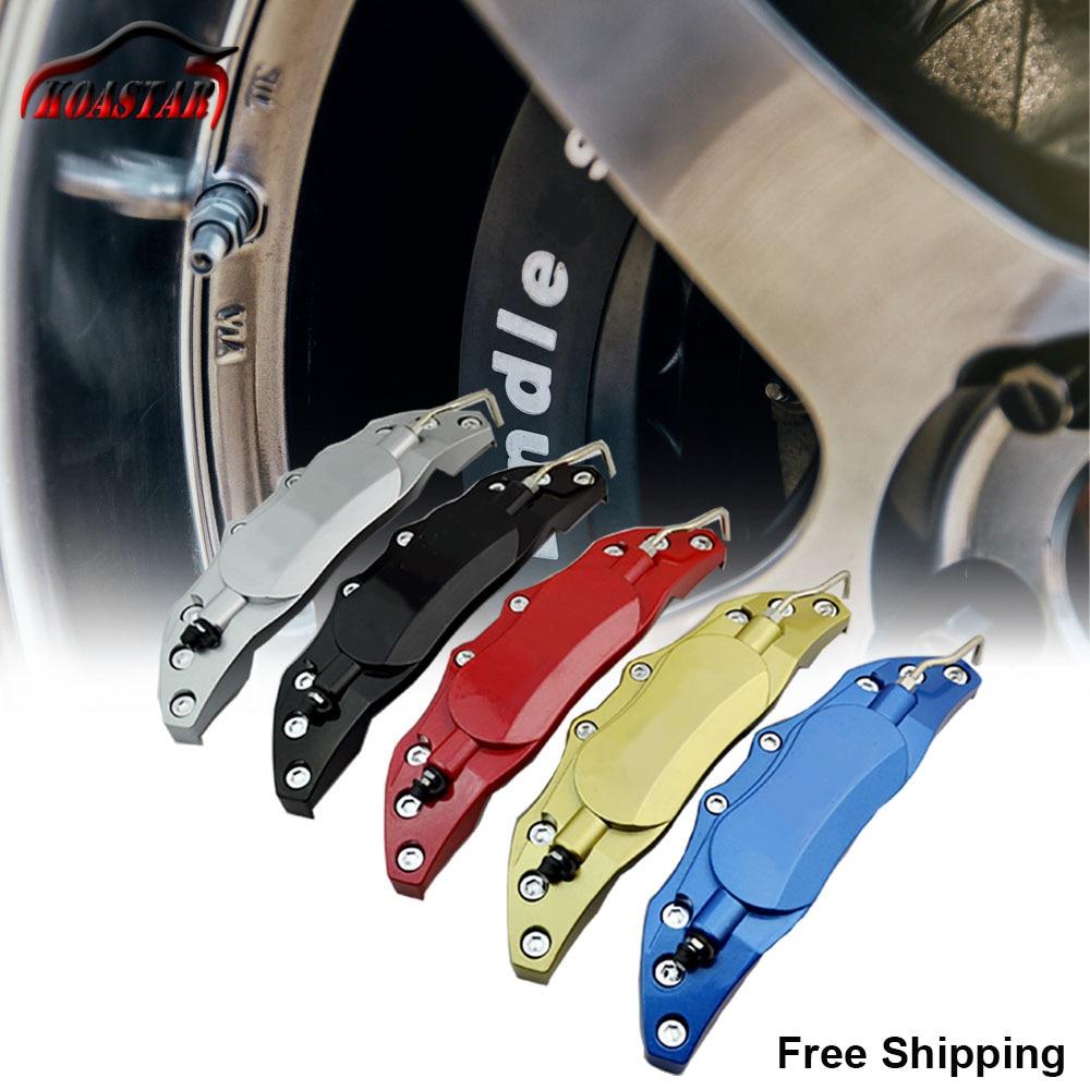 240mm haute qualité en aluminium avant étrier de frein couverture/camion 3D utile voiture disque arrière étrier de frein couvre Auto universel Kit