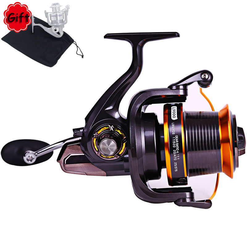FDDL LJ9000 Fishing Reel Full Metal Spool Jigging Trolling Long Shot Casting for Carp and Salt Water Surf Spinning Big Sea Fish image