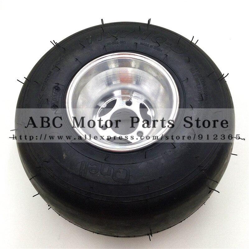 11X7. 10-5 kart pneu dérive vélo roues 168 Go kart 5 pouces roue arrière plage voiture accessoires ATV Quad pièces de rechange