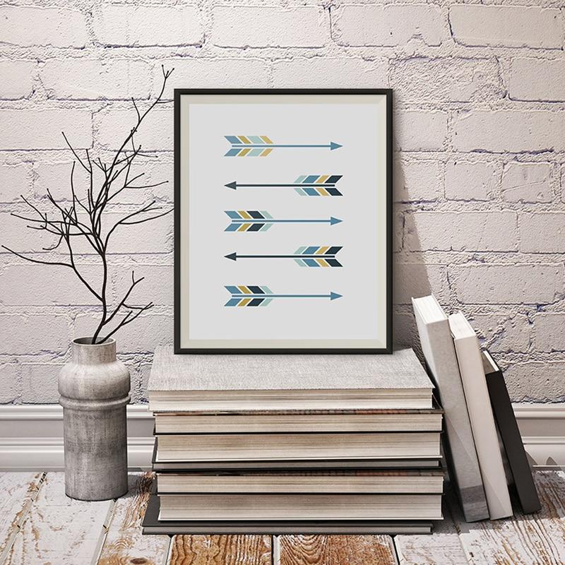 Aliexpress.com : Buy Arrows Art, Minimalist Modern Arrow ...