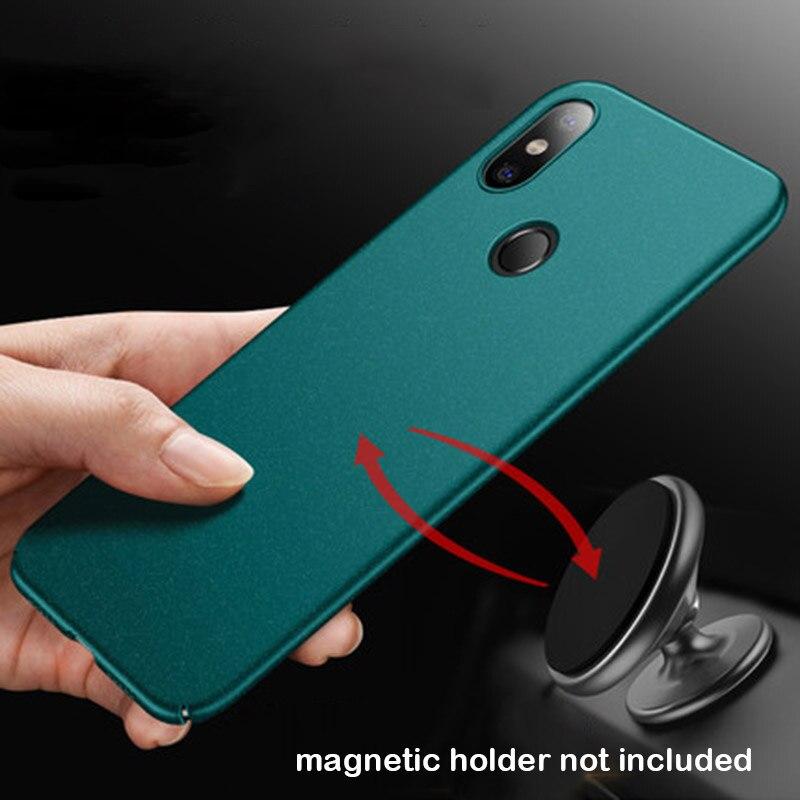 Pour Xiaomi Mi 8 Cas SE Couverture Xiaomi Cas D'origine Aixuan aimant Adsorption En Métal PC Retour Pour Xiaomi Mi 8 Couverture Magnétique