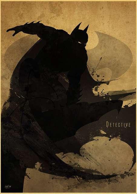Superheroes poster wall art 2
