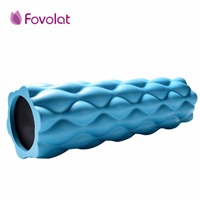 Muscle Relaxation Massage Roller Solid Fitness Yoga Roller Body Leg Back Muscle Trigger Point Massage Stick Roller Yoga Roller
