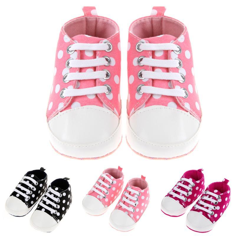 Baby Shoes Dot Toddler Boy Girl Shoes for Kids Girls Boy Soft Sole Sneaker Footwear Newborn Shoes