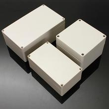 high qaulity Rectangular Shape Waterproof ABS Plastic Electronic Box Power Supply Case Wiring Box