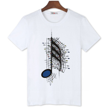 BGtomato love music art printing hot t shirts for men brand new fashion designer personality cheap sale - discount item  20% OFF Tops & Tees