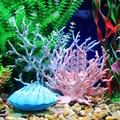 17cm Aquarium Artificial Coral Decoration Acuarios Plastic Vivid Fake Corals Decor Fish Tank Landscape Ornaments Accessories