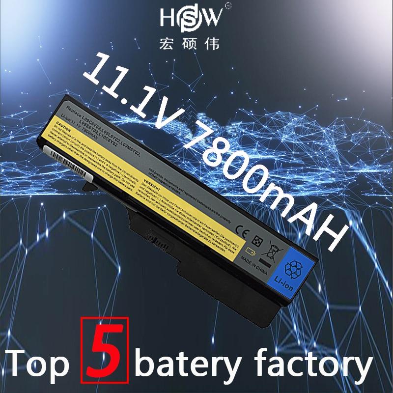 HSW 9cells Battery For Lenovo IdeaPad G565 B470 B457 K47 V470 b570 G460 G470 G770 G780 V370 Z370 Z460 G560 57Y6454 57Y6455