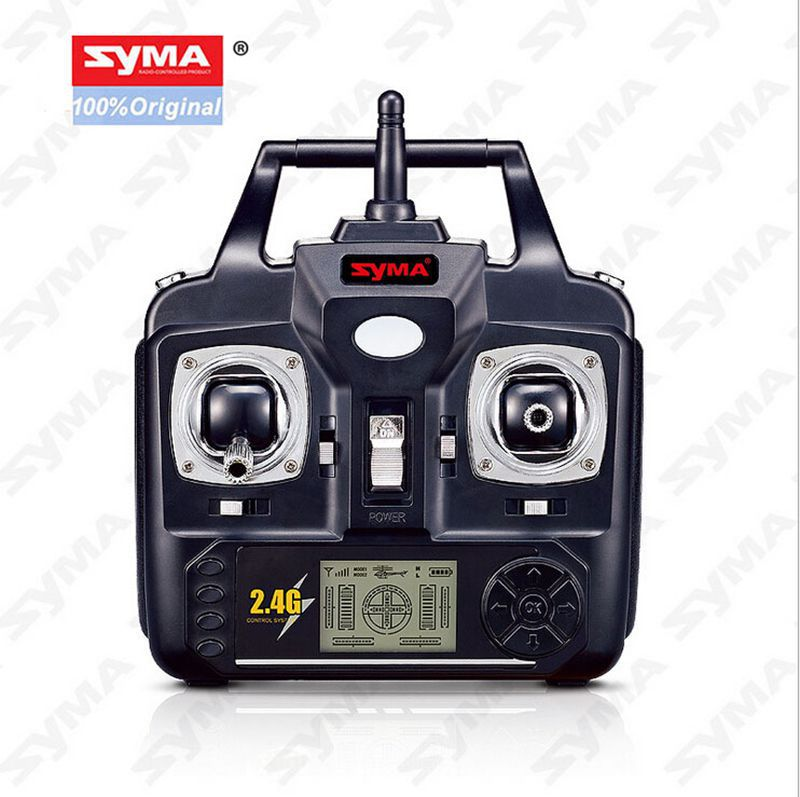 SYMA Transmitter Remote Control for SYMA X5C X5 X5C-1 RC Helicopter Drone Quadcopter Accessories Spare Parts jjrc h47 eachine e56 rc quadcopter spare parts gravity transmitter tx remote controller control for selfie drone accessories
