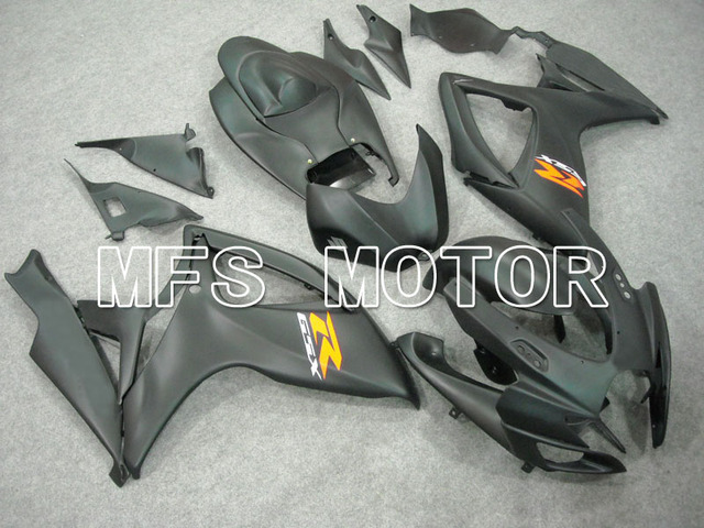 MOTORCYCLE FAIRING BODYWORK SET FOR Suzuki GSXR600/750 06-2007 Injection matte Black