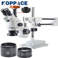 21MP Full HD 1080P 60FPS HDMI Electron Industry Digital Microscope Camera Mobile phone repair 3.5X 90X Stereoscopic Microscope