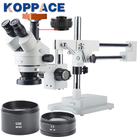 21MP Full HD 1080P 60FPS HDMI Electron Industry Digital Microscope Camera Mobile phone repair 3.5X 90X Stereoscopic Microscope