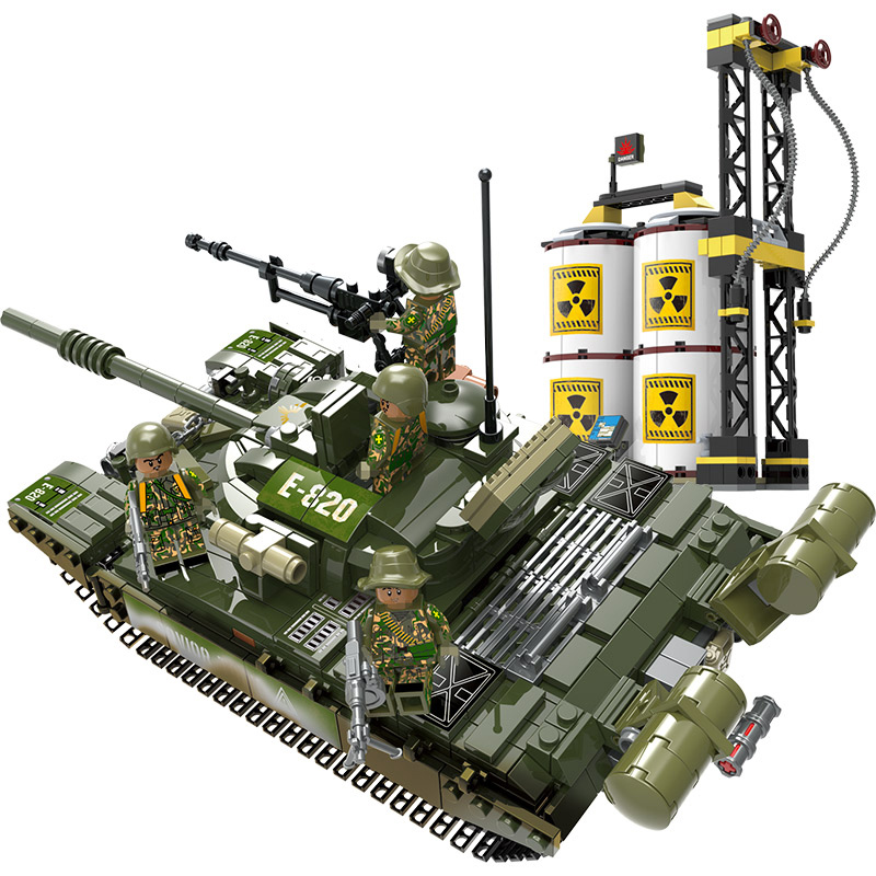 Military Series Compatible Legoed WW2 Russia T-72 Main Battle Tank Building Blocks Army Soldier Action Figures Bricks Kids ToysMilitary Series Compatible Legoed WW2 Russia T-72 Main Battle Tank Building Blocks Army Soldier Action Figures Bricks Kids Toys
