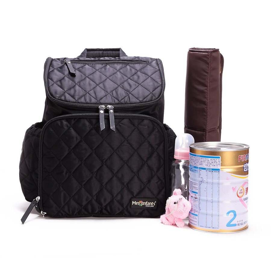 Mesenfants Baby Backpack Large Diaper Bag Organizer Fashion Nappy Bags Baby Nappy Backpack