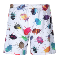 Couple Shorts Men Women Summer Shorts 3D Insect Printed Beach Short Hawaii Sea Shorts Men Boardshorts