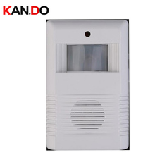 work in dark Entry Door sensor alarm Welcome sensor alarm store use motion detection alarm body detection voice reception alarm
