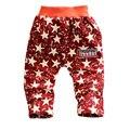 2015 nueva primavera y otoño de los niños pantalones de algodón patrón de la bandera Nacional muchacha del muchacho pantalones 1 unidades pantalones holgados pantalones del bebé 0-2 años