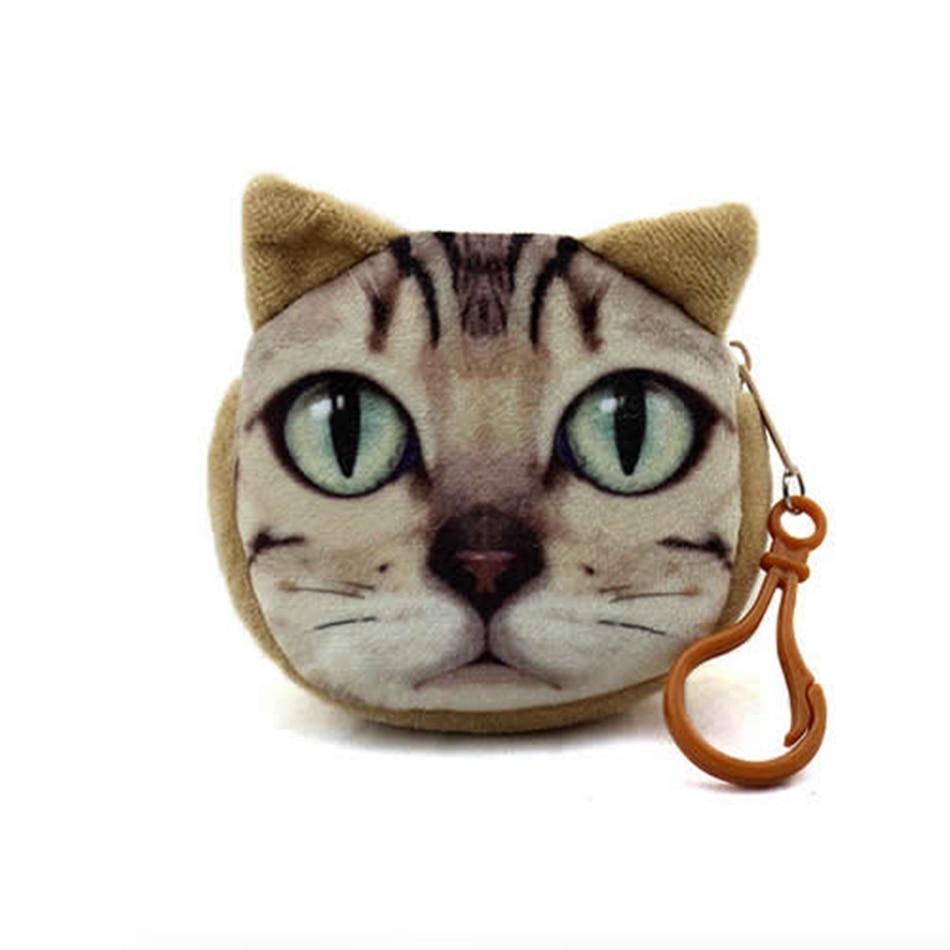 billeteras bonito gato Material : Corduroy