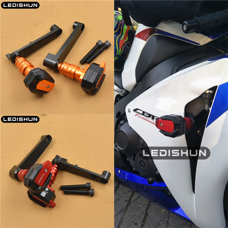 For Honda CBR1000RR CBR 1000 RR FIREBLADE 08 09 10 11 12  Motorcycle Slider Frame Sliders Engine Protective Guard Cover Falling