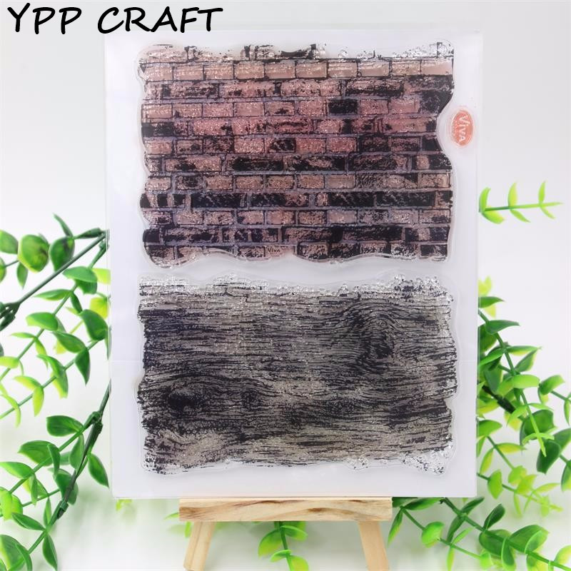 YPP CRAFT Bricks Transparent Clear Silicone Stamp/Seal for DIY scrapbooking/photo album Decorative clear stamp sheets about lovely baby design transparent clear silicone stamp seal for diy scrapbooking photo album clear stamp paper craft cl 052